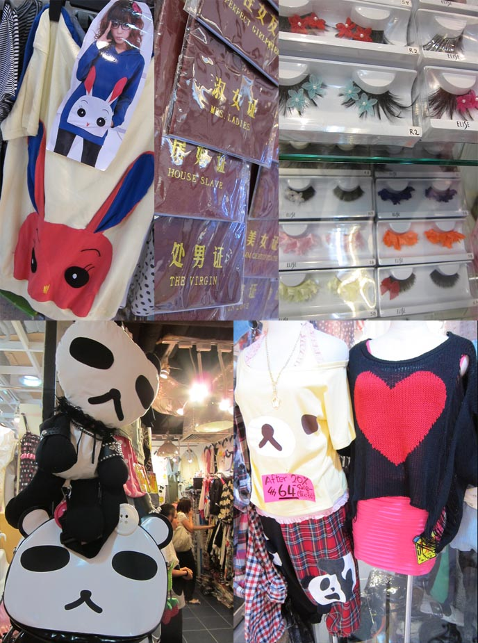 8eeaa6da3a91 GOTHIC LOLITA SHOP SPIDER IN HONG KONG. SHOPPING IN MONGKOK: BEST CHEAP  DISCOUNT CLOTHES