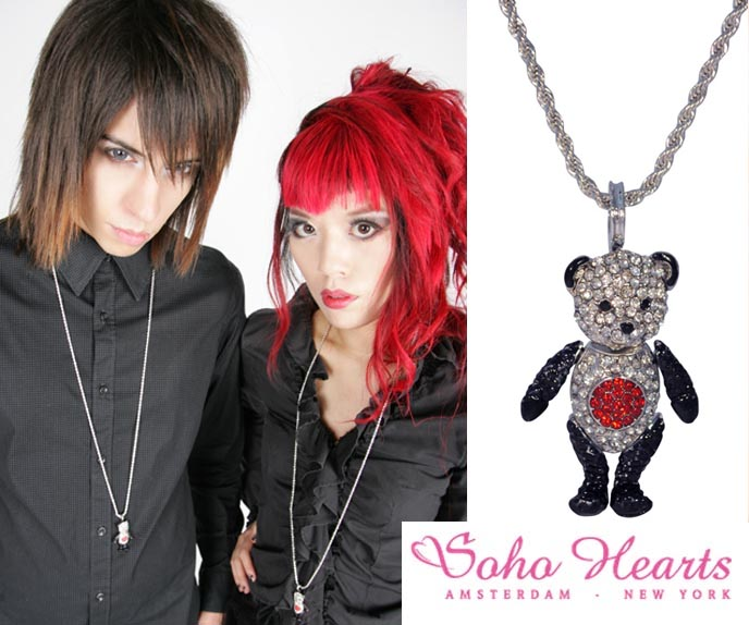 panda jewelry, panda bear necklace, JAPAN PANDA BEAR NECKLACE FOR CHARITY: SOHO HEARTS JEWELRY FOR SENDAI, JAPANESE EARTHQUAKE RECOVERY. how to donate goods for japan earthquake survivors, cute panda jewelry for sale,  la carmina jewelry, nonprofit necklace, FUNDRAISING EFFORTS & CHARITY COLLABORATION: soho hearts designer jewelry, accessories, cute bear pendant, JAPAN CHARITY FUNDRAISING, BENEFIT JAPAN EARTHQUAKE & TSUNAMI VICTIMS. earth quake 2011, survivor stories, DONATE TO JAPAN japan earthquake, sendai, tsunami, relief fund, fundraising tokyo