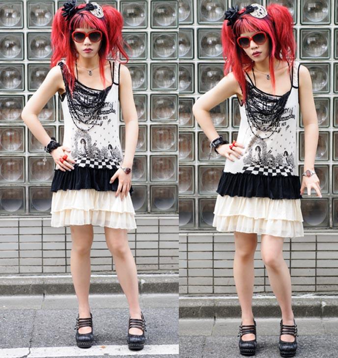 BUST MAGAZINE FEATURE: FASHION NATION, LA CARMINA FEATURED BLOGGER. WOMEN'S LIFESTYLE, BEAUTY, STYLE. women's lifestyle magazine, crafts, how-to projects, famous fashion bloggers, top fashion blogs, make money, lumete sunglasses, big british party hat, garden party hats, algonquins dress japan, punk fashion japanese, goth style, red emo hair, feminist magazine, fashion nation, fashion magazine feature, fashion bloggers money, monetization, scene queen hairstyles