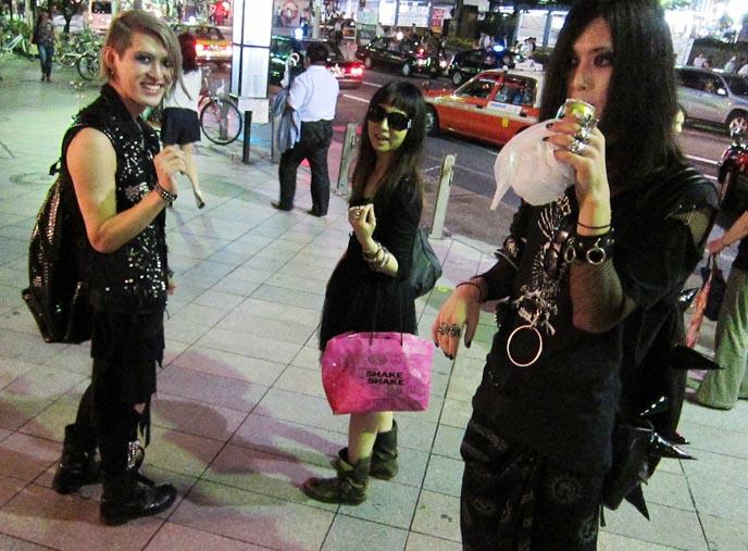 atsushi takashi japanese goth twins
