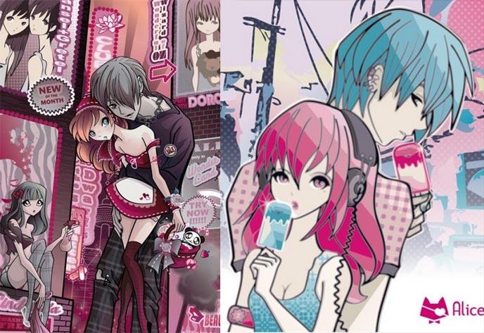 ... , AMVs, Video Games, japanese pop art, cute asian girls, junko mizuno