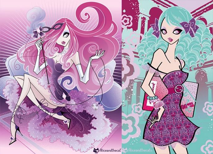 manga anime illustrations, drawings, alice and the cat, cute girls, japanese style drawing, how to draw jpop manga, Anime, Jpop, Jrock, Manga, Conventions, AMVs, Video Games, japanese pop art, cute asian girls, junko mizuno