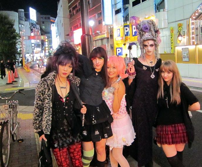 NHK KAWAII TV, la carmina nhk, JAPANESE GOTH INDUSTRIAL MUSIC DJS, BANDS, CLUB NIGHT: MIDNIGHT MESS. NHK TV DOCUMENTARY FILMING, GOTHIC LIFESTYLE. tv casting, filming in tokyo japan, shinjuku club marz, goth clubs, dark culture, ebm, techno party, rave, hard rock, metal, punk, subculture style, goth fashion, japanese style, sexy fetish girls, asian mistresses, dominatrix
