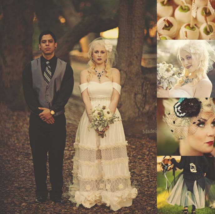 GOTH WEDDING, Gothic wedding ideas, goth wedding ring, black wedding dress, steampunk weddings, alternative bride INSPIRATION, KAT OF ROCKNROLL BRIDE. GOTHIC LOLITA WEDDING, BLACK BRIDAL GOWN, DECOR ideas, vintage retro wedding, 1920s weddings, 1930s reception, banquet, goth invitations, unconventional wedding dresses, unique wedding ideas, punk rock bride and groom, coolest wedding cakes
