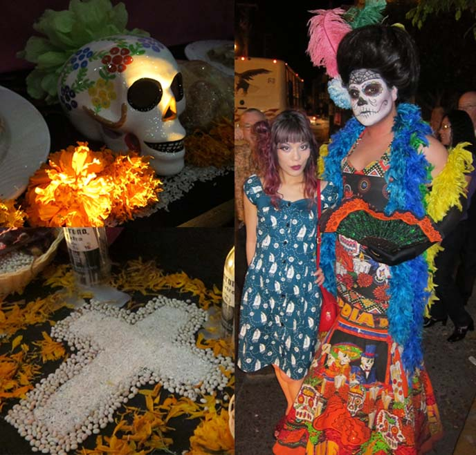 DAY OF THE DEAD PARADE, Día de Muertos, ART & MAKEUP: DIA DE LOS MUERTOS, MEXICAN CELEBRATION. BREAD OF THE DEAD, MAZATLAN MEXICO, SKELETON lady, catriona, la catrina, Mexico ritual honor dead, graveyards, altars, ofrendas, sugar skulls, cempasúchil, sugar skull art, calaveras, La Calavera de la Catrina, pan de muertos, skull crossbones decorated bread, day of the dead skull makeup, skeleton woman art statues