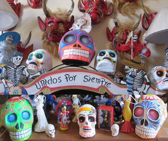 mexican ice cream, mexico sherbet, calaveras de azúcar, MEXICAN SKULLS & SKELETON ART: CATRIONA STATUES, CALAVERAS. MAZATLAN ART WALK, NIDART LEATHER MASKS. DAY OF THE DEAD makeup, face paint, Día de Muertos art, goth mexico, DIA DE LOS MUERTOS, MEXICAN graveyard altars. BREAD OF THE DEAD, MAZATLAN MEXICO, SKELETON lady, catriona, la catrina, Mexico ritual honor dead, graveyards, altars, ofrendas, sugar skulls, cempasúchil, sugar skull art, La Calavera de la Catrina, skeleton woman art statues