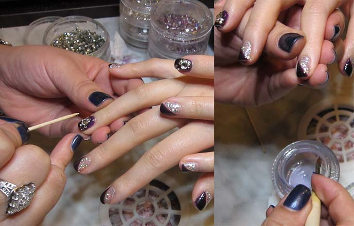 Cute Japanese Nail Art Designs Bling Nails Salon Vancouver Canada