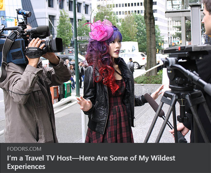 famous women travel tv hosts television hosting