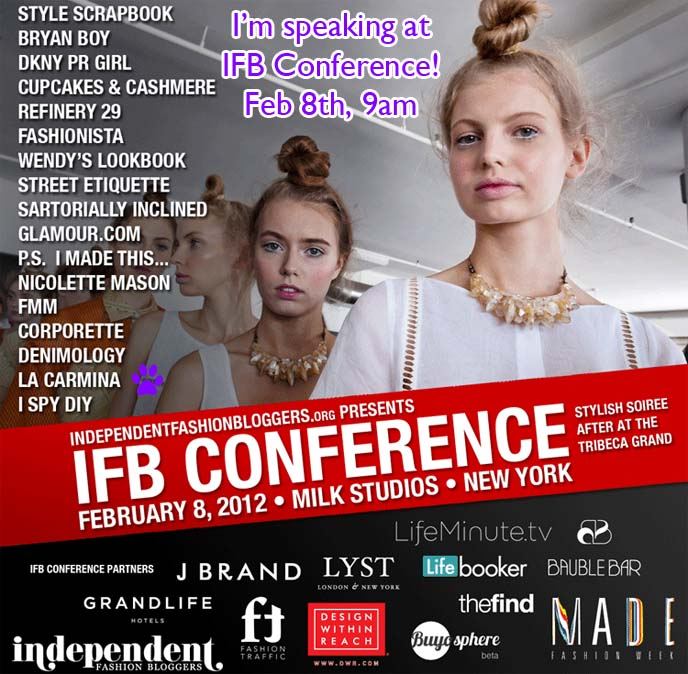 IFB CONFERENCE AT MILK STUDIOS, ifb con, what are bloggers worth panel, ifb panelists, fashion blogger conference nyfw, LA CARMINA & YUKIRO AT NEW YORK FASHION WEEK! SPEAKING AT IFB CONFERENCE, HOSTING NYFW EVENTS, RUNWAY SHOWS. independent fashion bloggers conference, evolving influence, ifbcon, ifbcon 2012, the coveted, fashion bloggers conference, how to get tickets to ny fashion week, mbfashionweek, mercedes benz fashion week, new york city fashion, runway shows, fashion show invites, invitations, blogger events, fashion blog collaborations