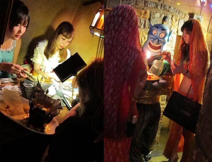 ARABIAN ROCK THEME RESTAURANT, aladdin theme restaurant, kabukicho theme restaurants, shinjuku weird cool cafes, COS-CHA MAID CAFE AKIHABARA. hostess hairstyle, gyaru hair, hostess japan hair, japanese eyelashes, TOKYO JAPAN FIXERS, PRODUCTION ARRANGERS: FOOD NETWORK TV. cute japanese maids, coscha, punishment cafe, bob blumer, WORLD'S WEIRDEST RESTAURANTS, FOOD NETWORK CANADA, christon cafe shinjuku, Food network tv host, SHINJUKU TOKYO JAPAN. bob blumer, tv host, travel channel, glutton for punishment, surreal gourmet, crazy japan theme cafes, maid cafes, tv hosting, fixing, japan production arrangers, tokyo fixer, craziest restaurants in the world, japanese theme cafes.