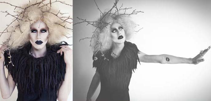 SHARON NEEDLES, RUPAUL'S DRAG RACE SPOOKY-SHOCK GOTH PHOTOSHOOT! POSE APP, FASHION SHARING APPLICATION, SHARON NEEDLE, RUPAUL DRAG RACE, Sharon needles photos, videos, music, facebook, drag race stars, logo tv, pose iphone app, fashion bloggers social network, fashion blogs, famous style bloggers, journalists, austin young photos, David Phelps, judson harmon stylist, drag queen modeling, drag queens winners