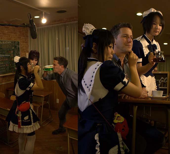 COS-CHA MAID CAFE AKIHABARA. hostess hairstyle, gyaru hair, hostess japan hair, japanese eyelashes, ARABIAN ROCK THEME RESTAURANT,  TOKYO JAPAN FIXERS, PRODUCTION ARRANGERS: FOOD NETWORK TV. aladdin theme restaurant, kabukicho theme restaurants, shinjuku weird cool cafes, cute japanese maids, coscha, punishment cafe, bob blumer, WORLD'S WEIRDEST RESTAURANTS, FOOD NETWORK CANADA, christon cafe shinjuku, Food network tv host, SHINJUKU TOKYO JAPAN. bob blumer, tv host, travel channel, glutton for punishment, surreal gourmet, crazy japan theme cafes, maid cafes, tv hosting, fixing, japan production arrangers, tokyo fixer, craziest restaurants in the world, japanese theme cafes.