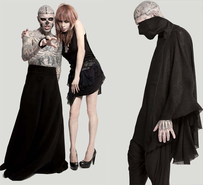 ZOMBIE BOY RICK GENEST, SOPHIA LAMAR. NY FASHION WEEK: SOCIALYTE.CO BLOGGERS LOUNGE, GENART, HEART TRUTH. skingraft designs, caravan studios nyc, fashion bloggers social network, socialyte, daniel saynt, FASHION BLOGGERS NY FASHION WEEK, nyfw, CONCEPT KOREA RUNWAY SHOW: NEW YORK FASHION WEEK, LINCOLN CENTER PRESENTATIONS, FEBRUARY 2012. korean fashion, korea womens clothing, buy korean kpop clothes, fashion bloggers front row, fashion weeks, fashion blogs, famous style bloggers journalists, austin young photos