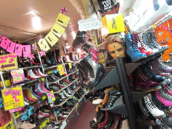 London Goth travel guide: Camden Market Gothic Punk shops