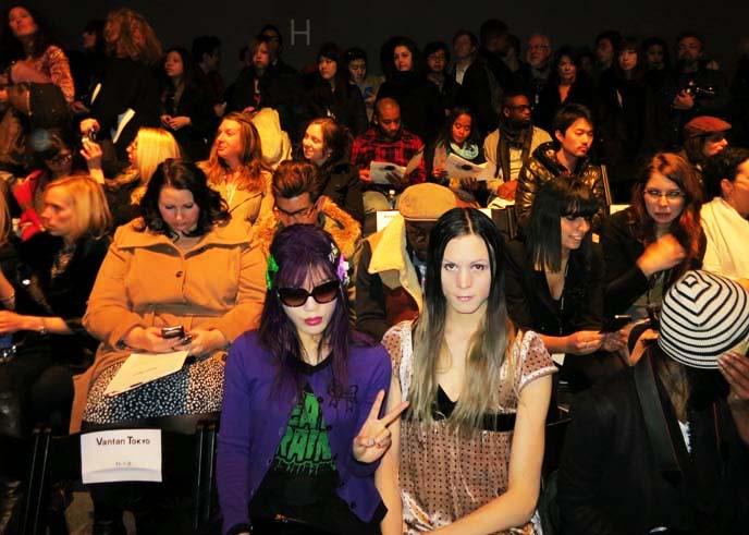 ZOMBIE HANDS HAIR CLIPS, KREEPSVILLE 666 ZOMBIES HORROR JEWELRY. VANTAN TOKYO, NY FASHION WEEK RUNWAY. Zombie barrettes, goth horror accessories, NEW YORK GOTH, PUNK, INDUSTRIAL, ALTERNATIVE CLUBS & SHOPPING. vantan tokyo, vantan fashion show, lincoln center, lumete sunglasses, sourpuss cardigan, sourpuss brand clothing, eyeball hair cip, eyeballs hair barrette, japanease fashion shows, front row fashion bloggers, Vantan Design Institute, mbfw