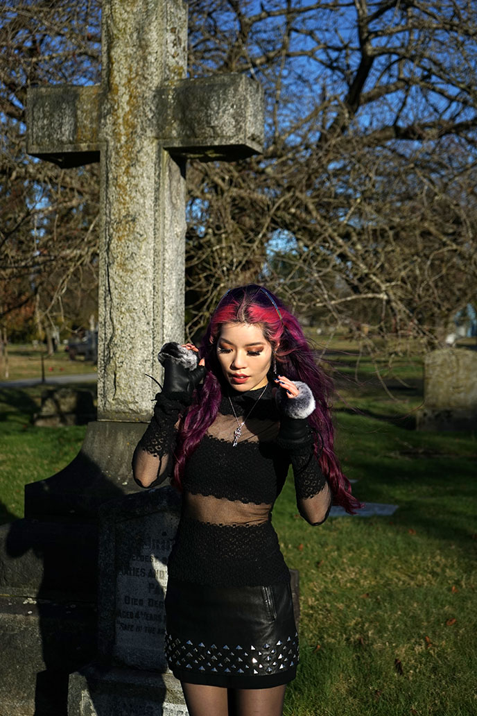 vancouver mountain view cemetery goth scene subculture