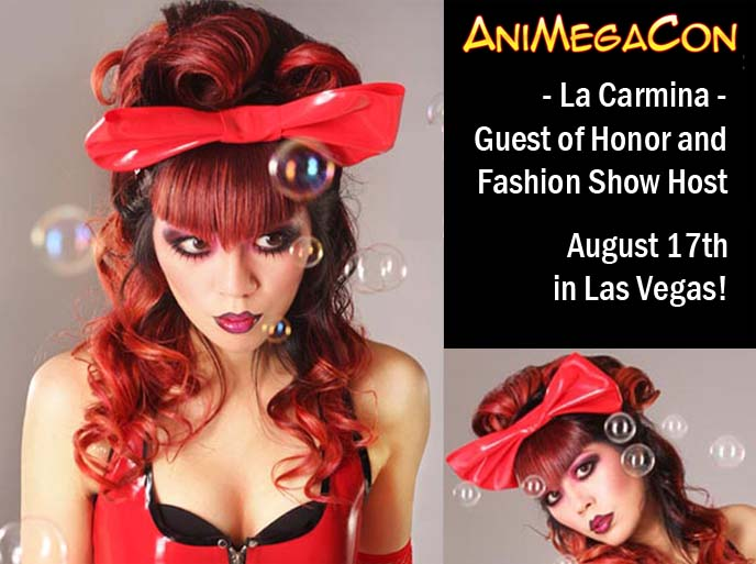 animegacon, The Universe's Largest Anime Convention, dolldelight fashion show, doll delight, cyril lumboy, gothic lolita designer, gothic lolita fashion show, anime convention las vegas, maid cafe animegacon, las vegas comic convention, anime expo, guest of honor, la carmina panel