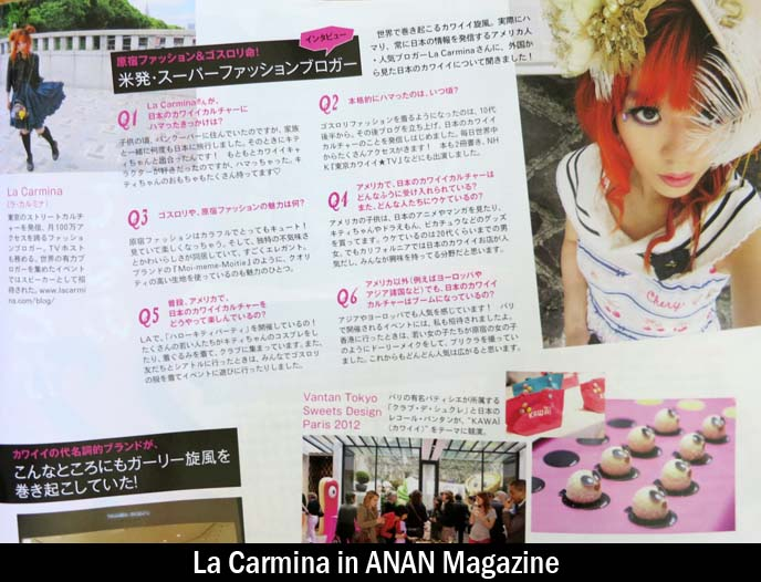 la carmina press, magazines