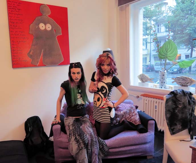 berlin goth, berlin goth clubs, gothic, ARTSY, HIP RENTAL APARTMENT: GO WITH OH, germany, japanese fashion, berlin goth stores, punk shops, alternative clubs, lgbt, gay clubs, gay scene, go with oh, apartment rentals german, berlin best hotels, cheap hotel, berlin travel tips, youth culture, east germany, subculture, gotik, deutschland, colorful hair, punk hairstyles, japanese cool kids, young street fashion