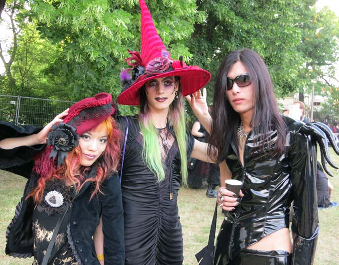 japanese goths at wave gotik treffen