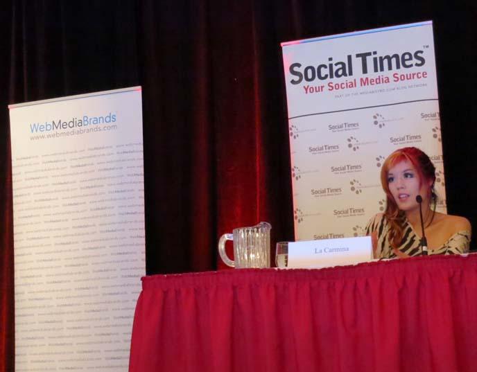 fashion blogger panel, social media speech, social media week, mediabistro events