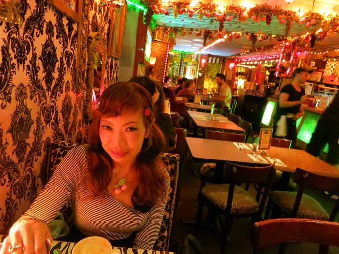 Dances of Vice, st marks place restaurants, goth new york