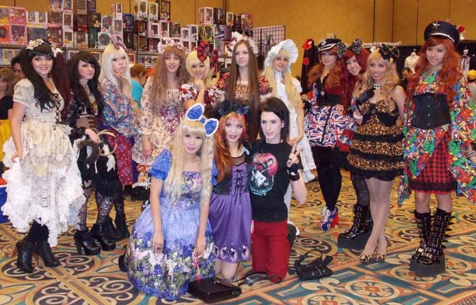 Animegacon Las Vegas Anime Convention Doll Delight Jrock Gothic Lolita Fashion Show DollDelight