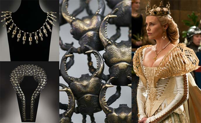 Tim Burton Dark Shadows, True Blood, Snow White & Huntsman, charlize theron queen, movie jewelry by Stephen Einhorn. Vampire fangs ring, evil queen collar. johnny depp ring,  Bespoke Key Necklace, dark shadows costumes, costume design, Johnny Depp Barnabas Collins,  Eva Green Angelique Bouchard, film jewelry, film accessories, gothic cosplay, plaid punk dress, gothic lolita clothing, goth loli, gothloli, egl