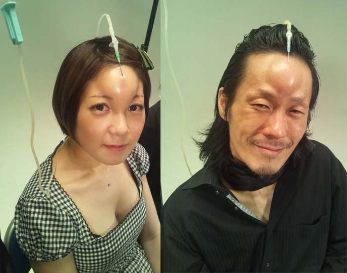 Bagel Head Trend in Japan? The truth on Japanese Bagelheads forehead