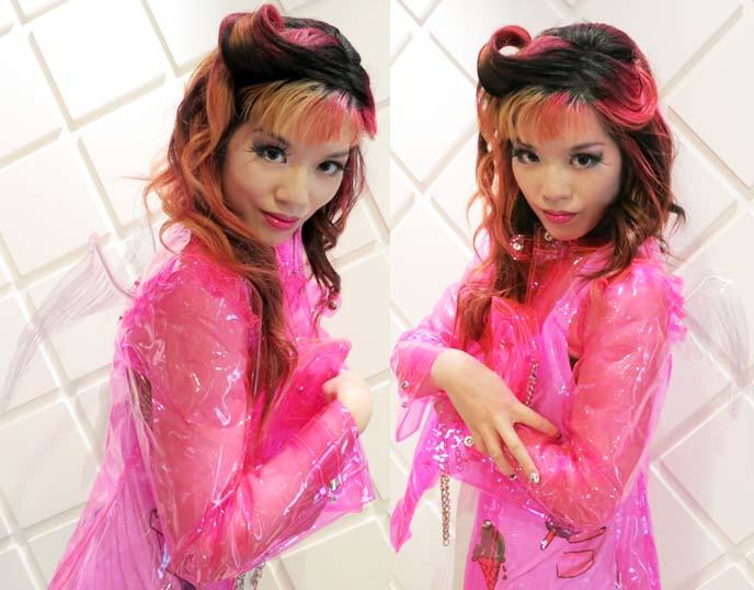 kusuri enterprises, kusuri raincoats, kawaii fashion, pastel goth clothes