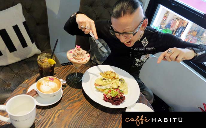 caffe habitu, cafe habitu central, hong kong cafes, cute latte, coffee house, coffee cocktails