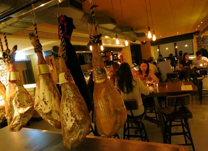 Hong Kong central restaurants, boqueria, spanish food