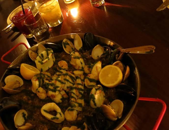 new hong hong restaurants, spanish cuisine, paella