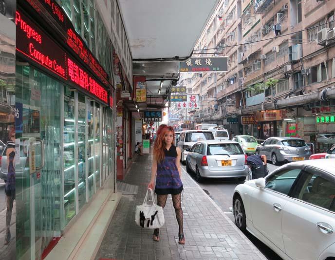 Girls in Hong Kong