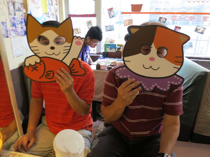 cat masks, hong kong 阿貓地攤, Cat Store, scottish fold cats, cat cakes, cat shaped chocolates, kitty masks, halloween cat costume