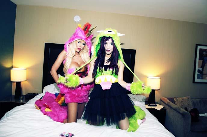 josie stevens, sexy halloween costume, womens designer halloween costumes, japanese street style
