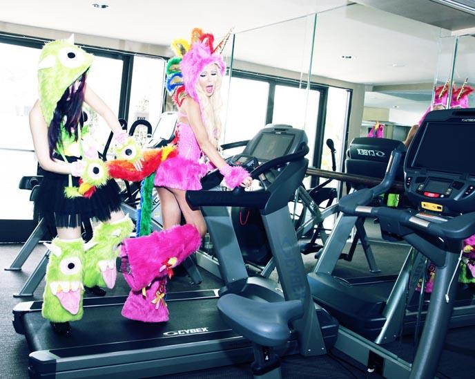 josie stevens, josie stevens costumes, j valentine halloween costumes, rainbow unicorn costume