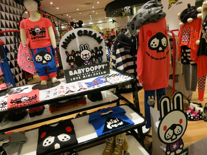 hyoma at it izzue store, causeway bay hong kong, coolest kid's clothes