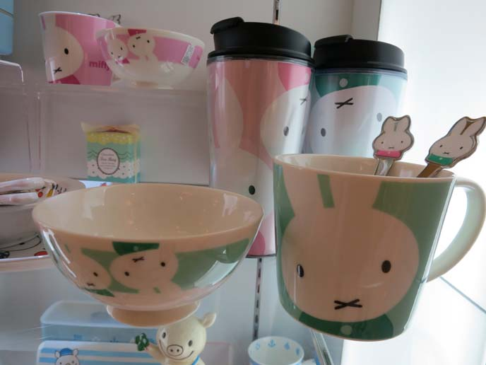 Miffy cup, miffy bento, miffy bowls, dick bruna miffy, rabbit kawaii character