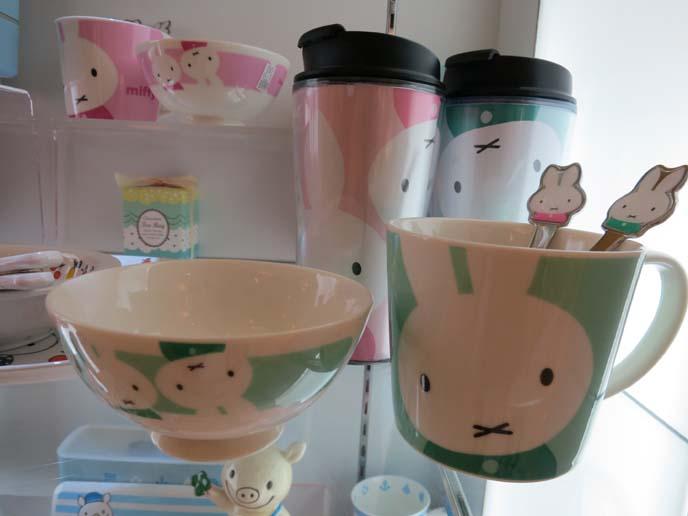 Miffy cup, miffy bento, miffy bowls, dick bruna miffy, rabbit kawaii character