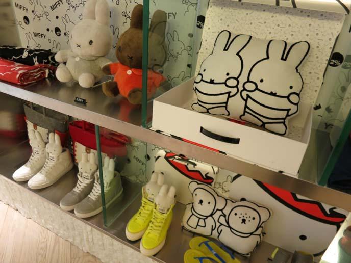 Miffy shop, wtc causeway bay, bunny clothing, bunny fashion