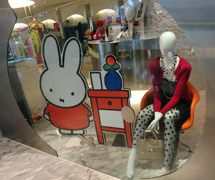 Miffy fashion collection, TwoPercent Hong Kong, cute rabbit character clothing