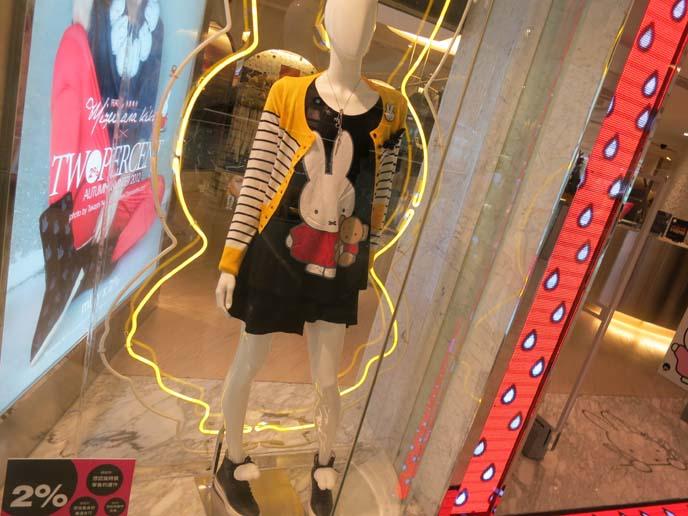 Miffy clothes, sanrio clothing collaboration, bunny dress, bunny tshirt