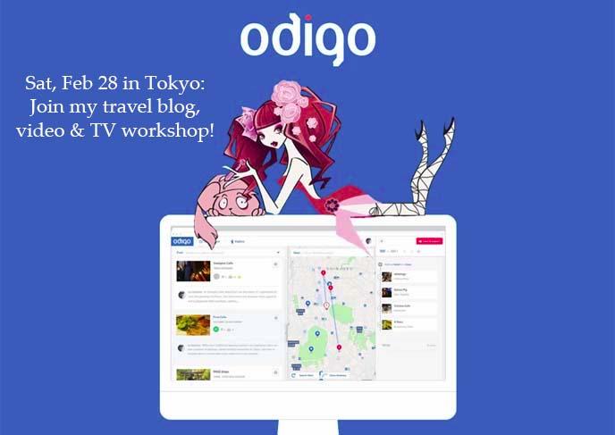 odigo travel bloggers workshop