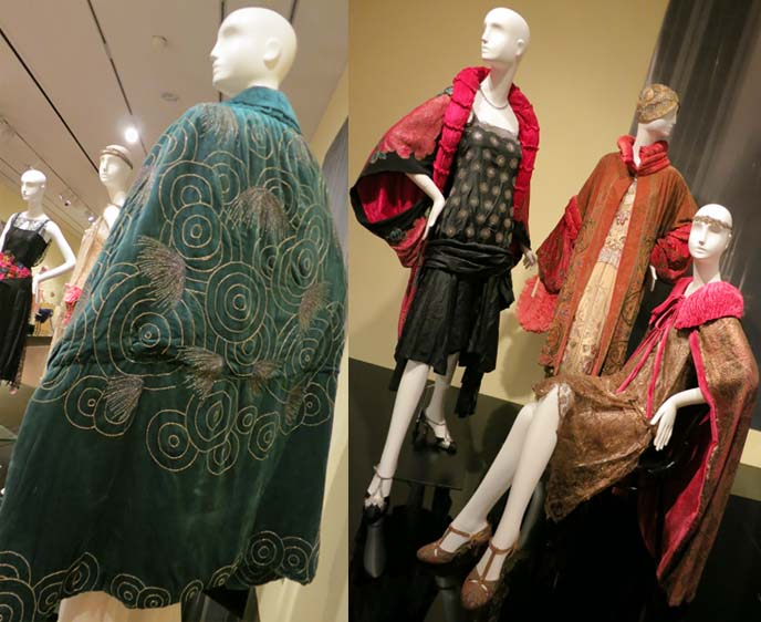 art deco dresses, 1920s, flapper dress, feather fans, phoenix art museum, phoenix arizona art