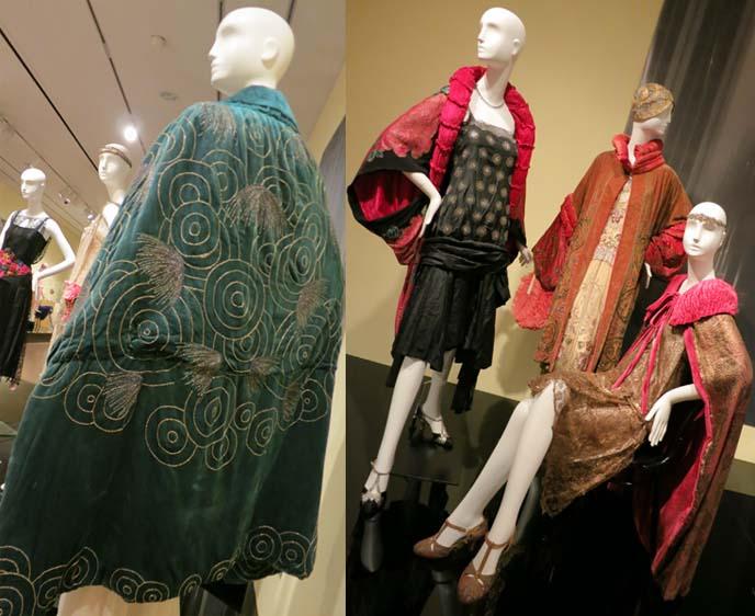 art deco dresses, 1920s, flapper dress, feather fans, phoenix art museum, phoenix arizona art