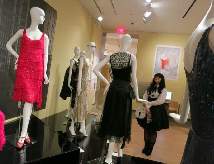 art deco dresses, coco chanel vintage dresses, chanel vintage exhibit