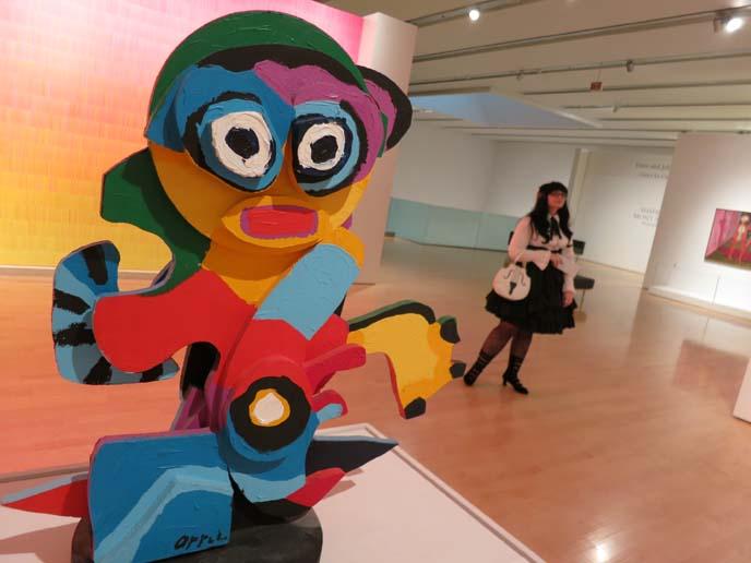 phoenix art museum, art deco exhibit, gothic lolita coordinate, egl, lolita daily