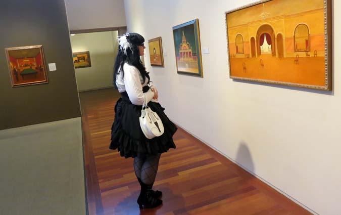phoenix Philip C. Curtis, surrealist paintings, modern american art