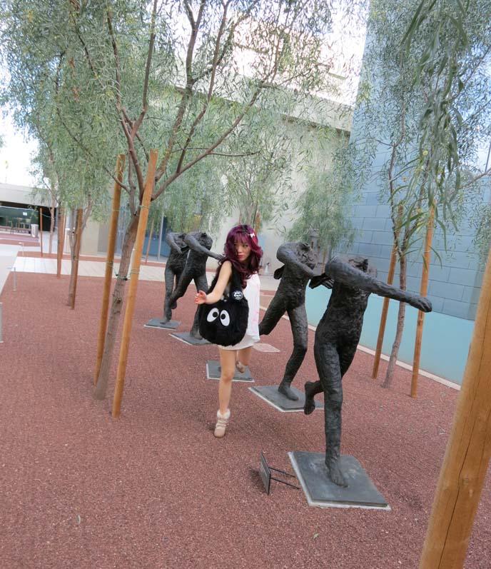 phoenix art museum, Dorrance Sculpture Garden, phoenix museum sculpture garden, modern art gallery